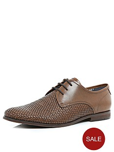 river-island-mens-weave-lace-up-shoes
