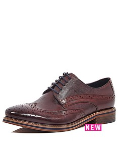 river-island-mens-brogue-shoes-burgundy