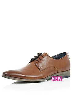 river-island-mens-plain-toe-lace-formal-shoes-tan