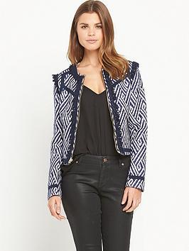 juicy-couture-globetrotter-tweed-jacket-blue