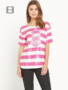 juicy-couture-stripe-pineapple-t-shirt-pink