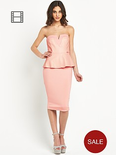 river-island-peplum-bandeau-pencil-dress