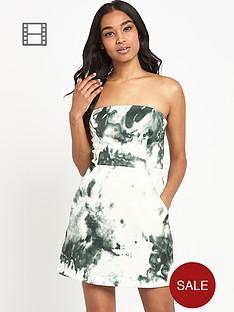 river-island-printed-a-line-bandeau-dress
