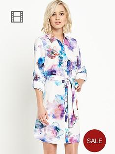 river-island-floral-shirt-dress