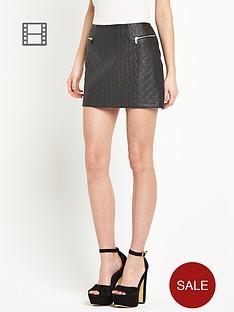 river-island-rope-quilt-mini-skirt