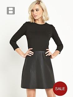 river-island-pu-a-line-2-1-waisted-mini-dress