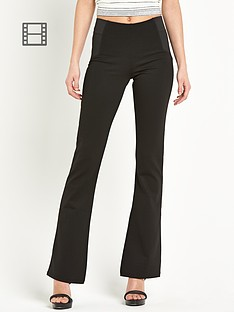 river-island-jersey-flares