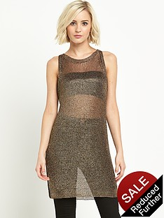 river-island-gold-metallic-tunic-vest