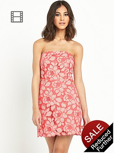 river-island-lace-bandeau-aline-dress