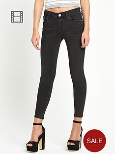 river-island-amelie-washed-black-skinny-jeans