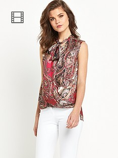 river-island-sleeveless-printed-pussybow-wrap-blouse