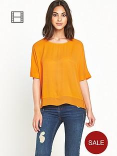 river-island-tangerine-oversized-top