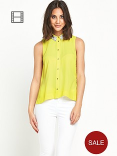 river-island-embellished-collar-shirt