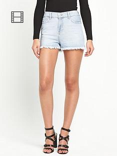 river-island-light-denim-shorts