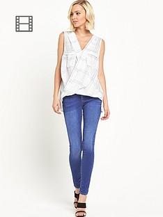 river-island-amelie-blue-skinny-jeans