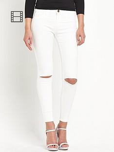 river-island-amelie-white-slash-skinny-jeans