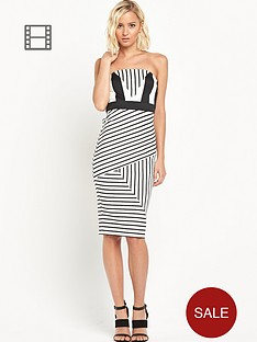 river-island-stripe-bandeau-pencil-dress