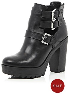 river-island-cut-out-double-buckle-heeled-boots