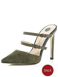 river-island-point-toe-mule-heeled-shoes