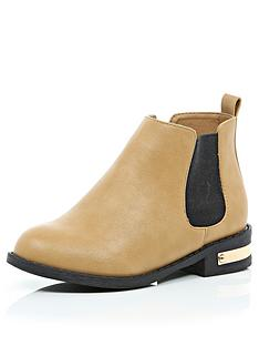 river-island-girls-tan-chelsea-boots