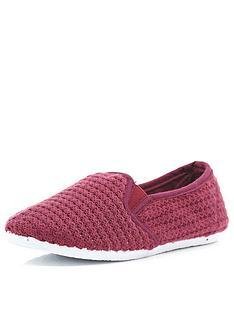 river-island-boys-slip-on-mesh-shoes