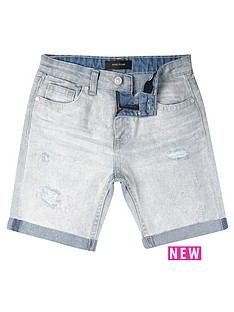 river-island-boys-ripped-denim-shorts