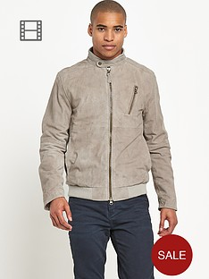river-island-mens-flint-suede-bomber-jacket