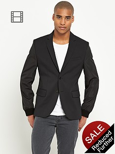 river-island-mens-nylon-sleeve-blazer