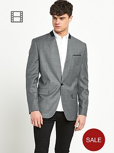 river-island-mens-collarless-blazer