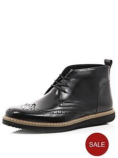 river-island-brogue-wedge-chukka-boots