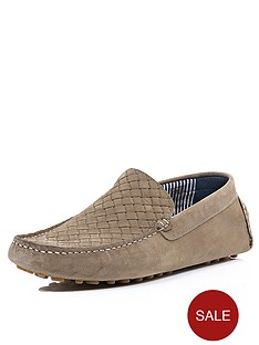 river-island-mens-woven-nubuck-loafers