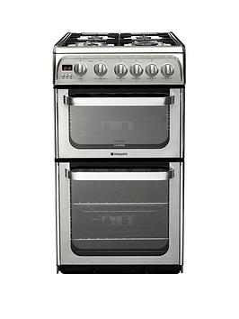 Hotpoint Ultima Hug52X 50Cm Gas Cooker With Fsd - Stainless Steel Review thumbnail