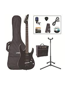encore-electric-guitar-outfit-gloss-black