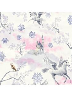 arthouse-fairytale-lilac-wallpaper-glitter
