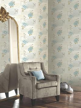 arthouse-bella-teal-wallpaper