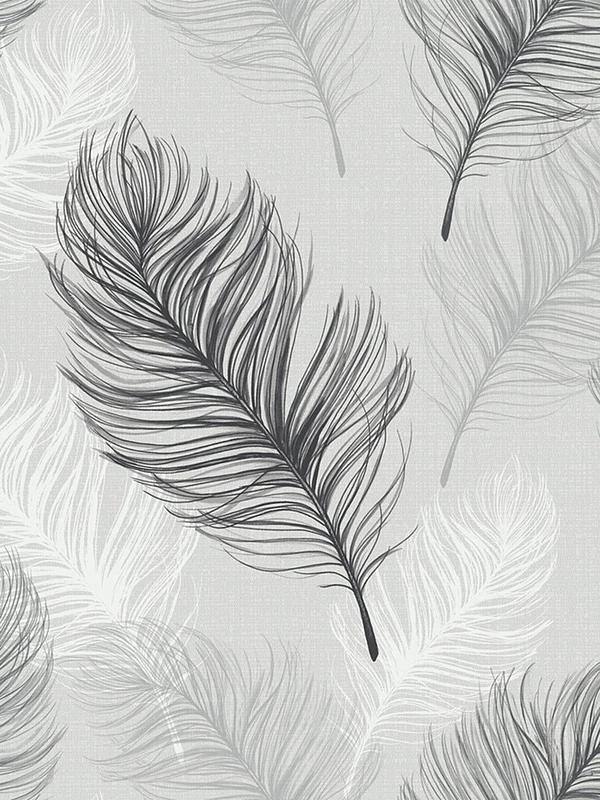 Arthouse Whisper Wallpaper Black White Very Co Uk