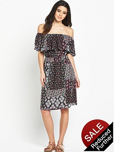 v-by-very-bardot-gypsy-printed-dress