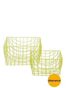 set-of-2-wire-long-baskets-lime