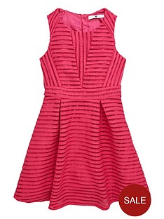 v-by-very-girls-airtex-mesh-skater-dress