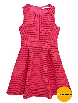 v-by-very-girls-airtex-mesh-skater-dress