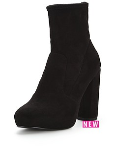 v-by-very-cordelianbspstretch-sock-pull-on-heeled-ankle-boots-black