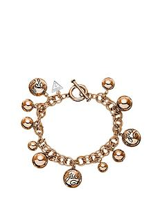 guess-rose-gold-plated-multi-beaded-charm-bracelet
