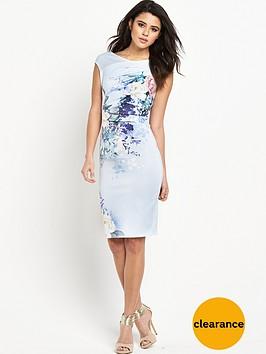 lipsy-floral-print-shift-dress