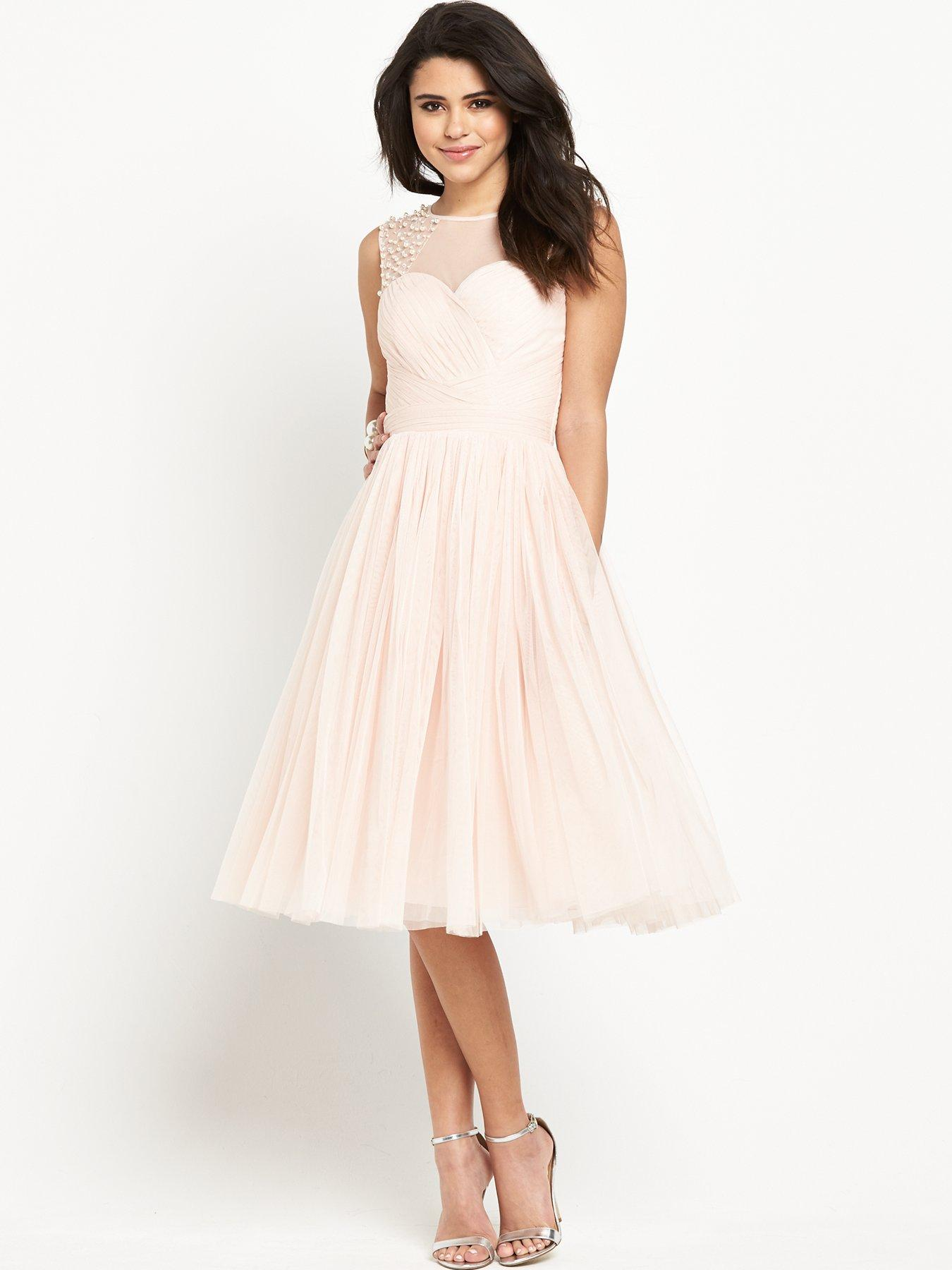 Sheer Midi Dress