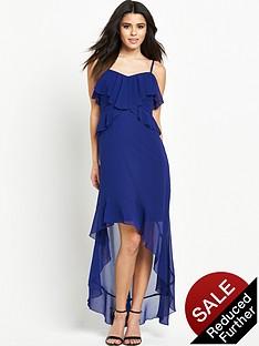 lipsy-ruffle-cami-hi-lo-maxi-dress