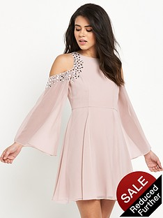 lipsy-embellished-swing-dress