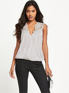 lipsy-wax-sleeveless-appliqueacutenbspwrap-blouse