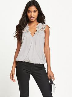 lipsy-wax-sleeveless-appliqueacutenbspwrap-blouse