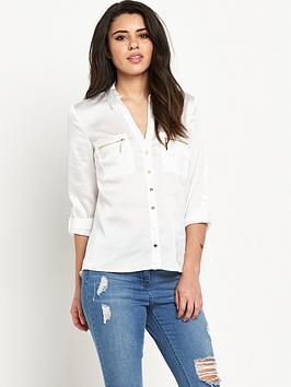 lipsy-zips-pocket-blouse