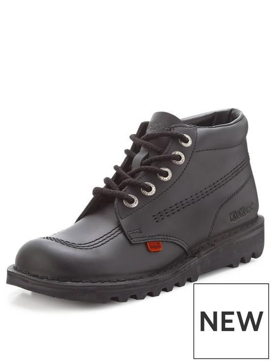 35997564b0681d Kickers Kick Hi Mens Boots | very.co.uk